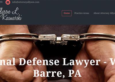 Attorney Allyson Kacmarski